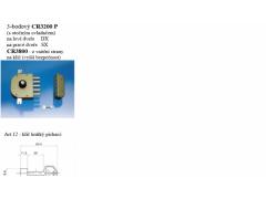 Zámek CR 3200 3-bod vč. táhel ŽELEZÁŘSTVÍ - Zámky - Přídavné zámky rozvorové