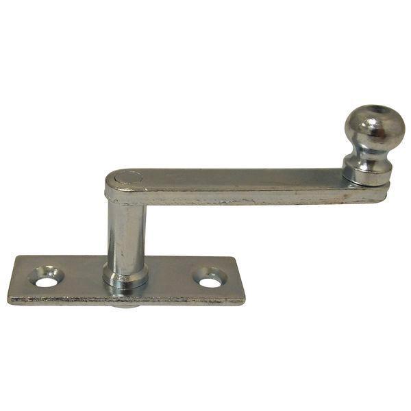 Obrtlík na hranaté destičce, 17 mm - Okenní obrtlík na hranaté podložce