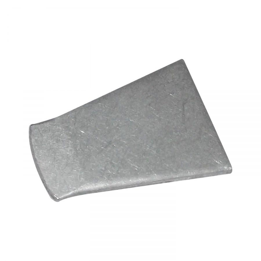 Protiplech k okenní záskočce, rovný, ocel pozinkovaná - Okenní příslušenství
