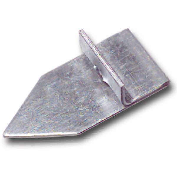 Protiplech k okenní záskočce, s úhelníkem, ocel pozinkovaná - Okenní příslušenství