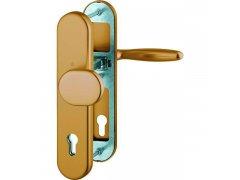 Bezpečnostní Kování Hoppe Verona klika-koule, PZ92, tl.dveří 67-72 mm DVEŘE - Dveřní kování, dveřní příslušenství - Bezpečnostní kování - Bezpečnostní kování Hoppe široký štít - Verona