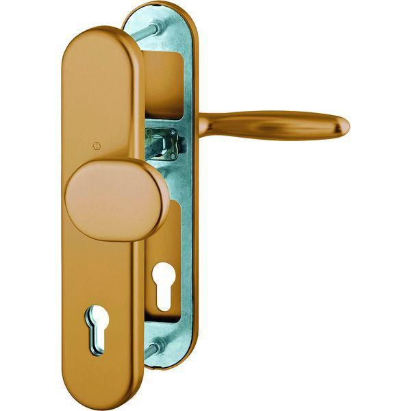 Bezpečnostní Kování Hoppe Verona klika-koule, PZ92, tl.dveří 67-72 mm - Verona