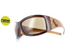 G2 twice brown DÍLNA - Nerozbitné brýle Gloryfy - Sportovní řada - řada G2