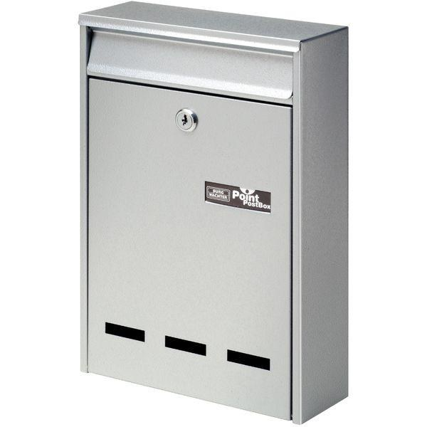 BURG Závěsná poštovní schránka POCKET, ocelový plech - Poštovní schránky