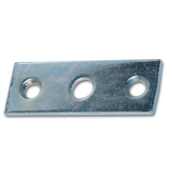 Protiplech pro pojistný okenní hák,60 x 20 mm, otvor ø 8,2 mm, ocel pozink. - Háky, výztužné tyče