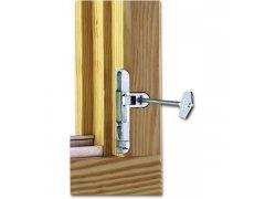 Pojistka otevírání skrytá MACO, 4L, zinkový odlitek stříbrný (10759) OKNA - Okenní pojistky