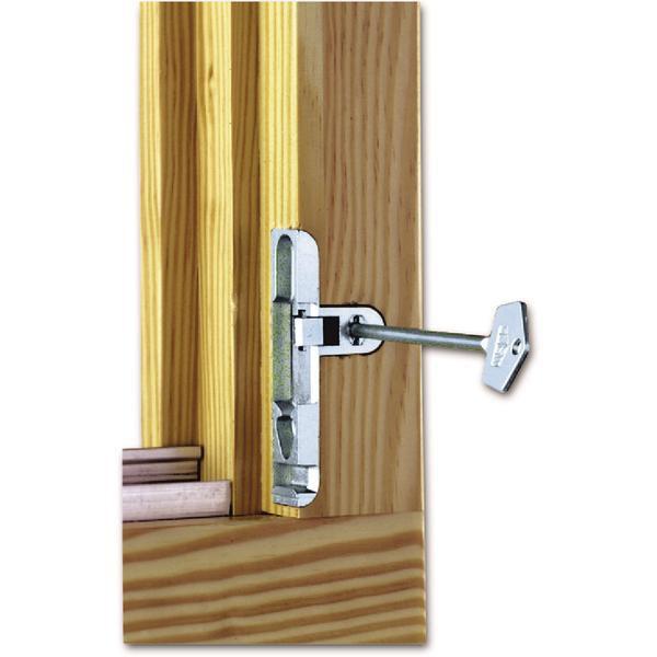 Pojistka otevírání skrytá MACO, 4L, zinkový odlitek stříbrný (10759) - Okenní pojistky