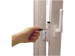Regulátor větrání multi-vent, ocel bílá (12360) OKNA - Okenní aretace, otvírače