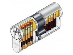 Vložka Abus Pfaffenhaim 410 vč. 3ks klíčů DVEŘE - Cylindrické vložky - Cylindrické vložky oboustranné - Cyl. vložky do 800,-