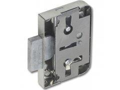 Obyčejný kazetový zámek 772, DM 20 mm, ocel poniklovaná ŽELEZÁŘSTVÍ - Zámky - Nábytkové zámky - Dózické nábytkové zámky,