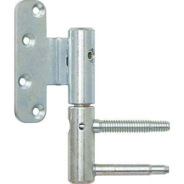 Dveřní závěs3-DIM 2díl.p.bezfalc.dveře,ø20mm,pravý,výška závěsu112mm,stříbř.poz.