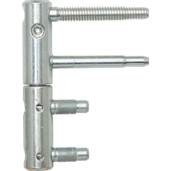Záv.pro ocel.zár.3-DIM 2 dílný,bez poj.proti vysaz.,ø 20mm, v-112mm, pozink stř.