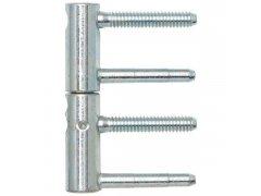 Závěs pro dřevěné dveře SOLIDO, 3D-DIM, 2-dílný, 20 mm, ocel pozinkovaná DVEŘE - Panty, Dveřní závěsy - Závěsy zavrtávací Solido