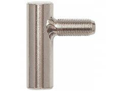 Dveřní závěs rámový díl SCH 27-38, pravý, výška závěsu 48,5 mm, ocel poniklovaná DVEŘE - Dveřní závěsy, panty - Závěsy zavrtávací