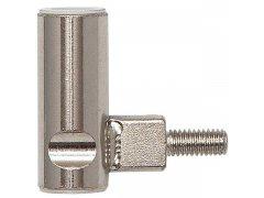 Dv. závěs rám.díl INCANTO 3-díl.závěs ø 15 mm, výška závěsu 38,5 mm,ocel ponikl. DVEŘE - Dveřní závěsy, panty - Panty na dveře SFS