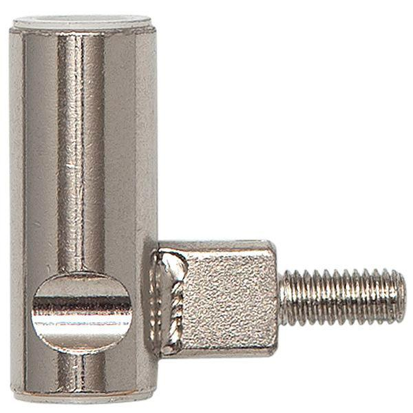 Dv. závěs rám.díl INCANTO 3-díl.závěs ø 15 mm, výška závěsu 38,5 mm,ocel ponikl.