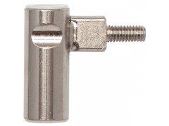 Dv.závěs rám.díl INCANTO 3-dílný,zalomený,pravý,výška záv. 38,5mm,ocel ponikl. DVEŘE - Panty, Dveřní závěsy - Panty na dveře SFS