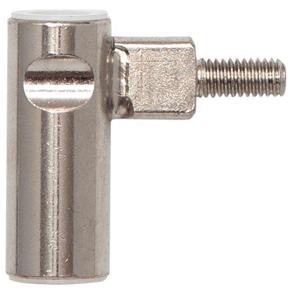 Dv.závěs rám.díl INCANTO 3-dílný,zalomený,levý,výška záv. 38,5mm,ocel ponikl.