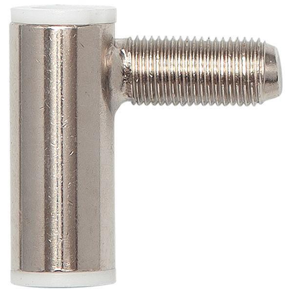 Dveřní závěs RÁMOVÝ díl SCH 27-37, pravý, výška závěsu 38,5 mm, ocel poniklovaná