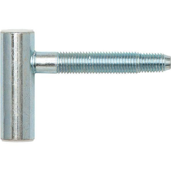 Dveřní závěs rámový díl SCH 27 - dřevo, výška závěsu, 48,5 mm, ocel pozink