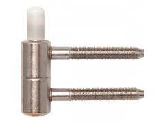 Spodní díl závěsu vhodný pro solido dřevěné zárubně, ø 16 mm, poniklovaný DVEŘE - Dveřní závěsy, panty - Panty na dveře SFS
