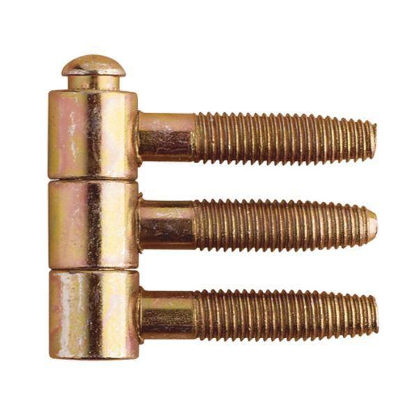 OTLAV Závěs zavrtávací Typ 300, ø 13 mm, ocel žlutý pozink (FE52)