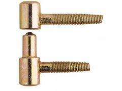 OTLAV závěs zavrtávací Typ 030, křídlový díl, ø 13 mm, ocel žlutý pozink (FE52) OKNA - Okenní sortiment, panty - Okenní panty - příslušenství - Zavrtávací závěsy