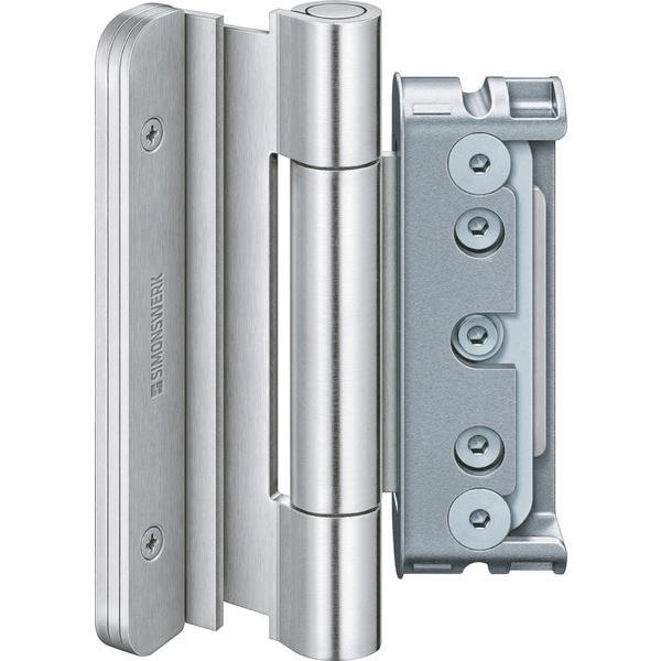 Dveř.závěs BAKA Protect 4030 3D FD MSTS +zajišt.pantů 1 sada=3 ks nerez.ocele - Simonswerk