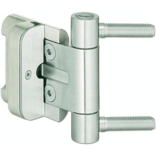 Závěs pro vchod.dveře BAKA 2D/20 bez pojistky, čepy 9,9 x 40 mm, ocel pozink. - Simonswerk