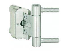 Závěs pro vchod.dveře BAKA 2D/20 s pojistkou, čepy 9,9 x 40 mm, ocel pozink. DVEŘE - Panty, Dveřní závěsy - Simonswerk
