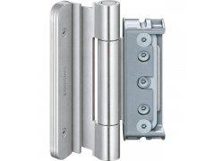 Dveř.závěs Baka Protect 4010 3D bez zajišt.pantů 1 sada=3 ks nerez.ocele DVEŘE - Panty, Dveřní závěsy - Simonswerk
