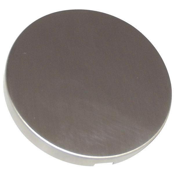 Rozeta bez otvoru, 55 mm, nerez