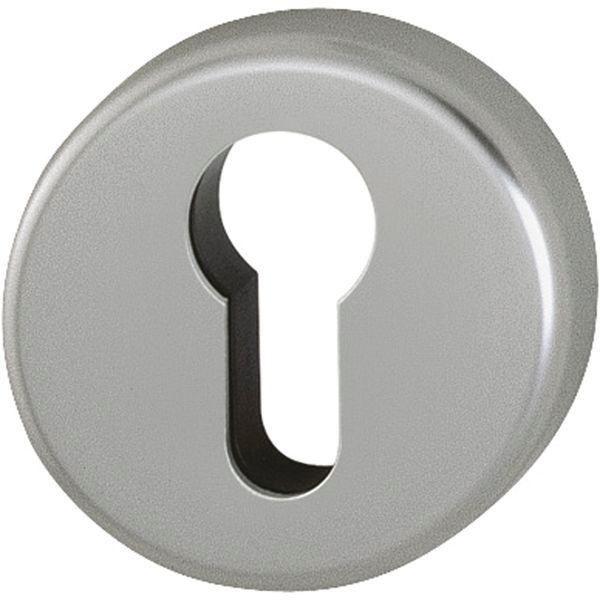 Klíčové rozety PZ, ø 53 mm, výška 9 mm, F9 ocel - Dveřní rozety