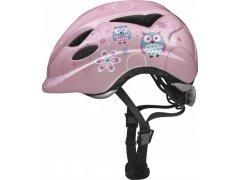 Anuky rose owl S (46-52 cm) MOTO A CYKLO - Cyklistické helmy - Dětské cyklo přilby