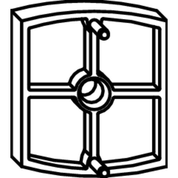 Podložka MACO Rustico pro doraz, 10 mm - Kování na okenice
