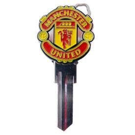 Klíč FC MANCHESTER UNITED - Cylindrické klíče, 3D klíče
