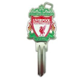 Klíč FC LIVERPOOL - Cylindrické klíče, 3D klíče
