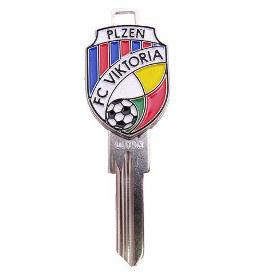 Klíč FC VIKTORIA PLZEŇ - Cylindrické klíče, 3D klíče