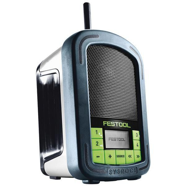 FESTOOL aku rádio SYSROCK BR10, 10,5-18,0 V, bez aku/nabíječky - Nářadí, ruční nářadí, elektrické pomůcky, ochranné pomůcky