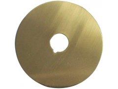 Krytka pro dveřní kukátko 70, 14,5 mm, mosaz leštěná DVEŘE - Dveřní kukátka