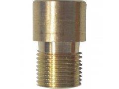 Prodloužení 10mm pro dveřní kukátko ø 12 mm, mosaz surová DVEŘE - Dveřní kukátka