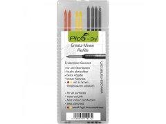 LYRA Náhradní tuhy, set grafit/žlutá/červená pro značkovače Pica Dry DÍLNA - Nářadí, ruční nářadí, elektrické pomůcky, ochranné pomůcky - Popisování