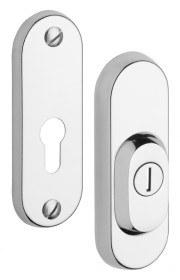 Bezpečnostní kování - R3/O nerez mat - Přídavné bezpečnostní kování