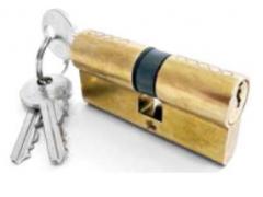 Stavební vložka 60S Dveře - Cylindrické vložky - Cylindrické vložky oboustranné - Bezpečnostní třída 2