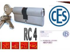 Vložka Ces PSM 4. bezpečnostní třída DVEŘE - Cylindrické vložky - Cylindrické vložky oboustranné - Cyl. vložky do 800,-