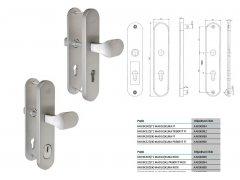 Bezpečnostní kování FAB BK305 a BK325 DVEŘE - Dveřní kování, dveřní příslušenství - Bezpečnostní kování - Bezpečnostní kování Fab