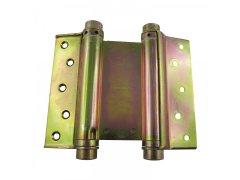 Dvousměrný závěs kyvných dveří, vel. 39, ocel žlutě pasivovaná DVEŘE - Dveřní závěsy, panty - Dveřní závěsy pro kyvné dveře