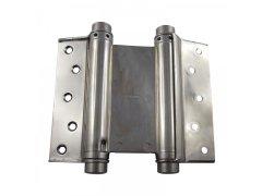 Dvousměrný závěs kyvných dveří, vel. 39, ocel poniklovaná DVEŘE - Panty, Dveřní závěsy - Dveřní závěsy pro kyvné dveře