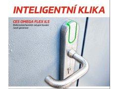 Kování Ces ILS OMEGA FLEX DVEŘE - Samozamykací zámky - Samozamykací zámky elektromechanické - Samozamykací zámky - Inteligentní klika