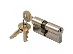 Stavební vložka 50SA 3 klíče Dveře - Cylindrické vložky - Cylindrické vložky oboustranné - Bezpečnostní třída 2